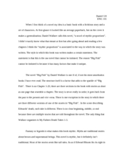 big fish essay