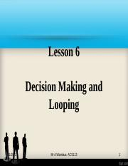 L6-Desion making and looping.ppt