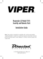 348-Responder LE Model 5701 Installation Manual