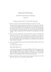 HW09 solutions
