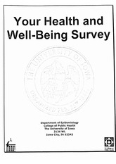 Your Health and Well-Being Survey