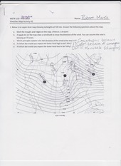 Weather Map Activity Lab 2