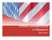 7 - Chapter 5 - Research Ethics