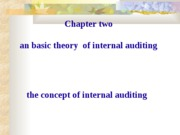 2internal auditing concept