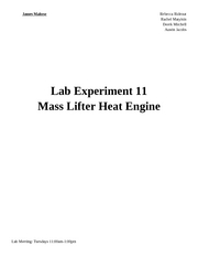 Lab 11 - Heat Engine