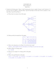 Econ 402 Homework 1 with solution