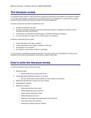 Monash University – Writing in Science - LITERATURE REVIEW.pdf