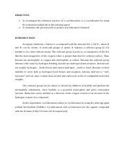 sodium borohydride reduction of cyclohexanone lab report