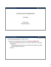 8-Construction Equipment (Hauling) - (Students).pdf