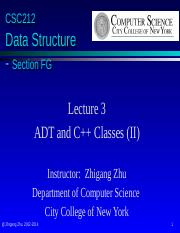 Lecture03-Classes(II)