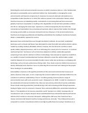 Essay 1 - business sustainability with changes.docx