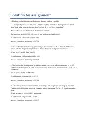 Solution for assignment.pdf