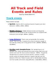 All Track and Field Events and Rules.docx