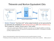 Lect17 - HANDOUT - Norton Equiv Ckts and Max Power