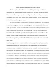 service learning reflection paper service learning reflection  2 pages outside lecture 1 reflection paper sonia nazario enrique s journey