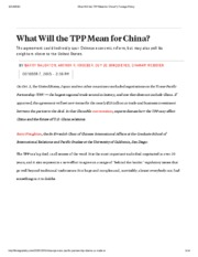 What Will the TPP Mean for China_ _ Foreign Policy.pdf