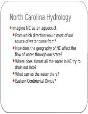 NC Watersheds and Pollution.pptx