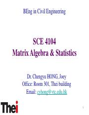 SCE 4104 Matrix Algebra  statistics Topic 8 (1).pdf