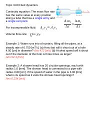 Topic309[Bernoulli's Equation]