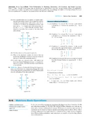 4-4 Matrices Basic Operations