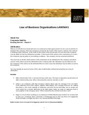 Week Five law541.docx