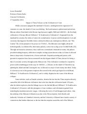 CLCIV101Paper1-Collapse of Mycenaean civilization