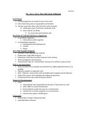 Lecture 10 Notes - Biology.docx