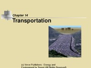 Chapter 6 - Transportation