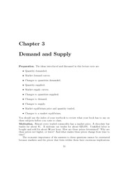 Lecture_Note_Set_3_Supply&Demand