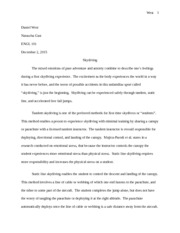 West Essay 2 ENG101