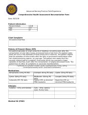 Comprehensive Health Assessment Documentation Form MREED.docx