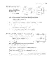 17_Ch 18 College Physics ProblemCH18 Direct-Current Circuits