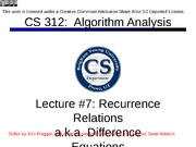 Lecture07-recurrencerels