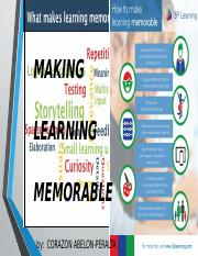 MAKING LEARNING MEMORABLE [Autosaved]