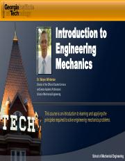 Module 2-Intro to Engr Mechanics