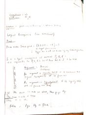 Logical Consequence (entailment) Notes