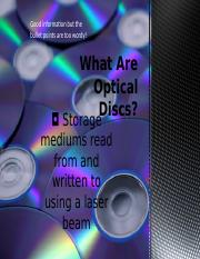 What Are Optical DiscsGroupIII