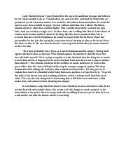 Macbeth essay cheats essay on protect your environment