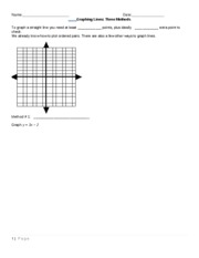 6.6 Graphing Lines_3 ways_handout