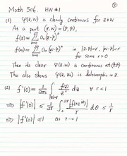 Math 506 Homework 1 Solutions