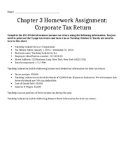 Tax Return Assignment (1)