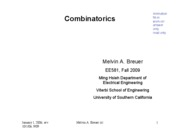 4 Combinatorics-F09-581-st