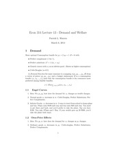 Lecture13: demand