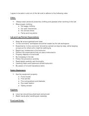 Chem Lab Safety Contract- Zack Fizell