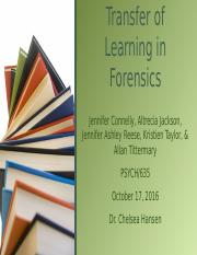 Transfer of Learning in Forensics.pptx