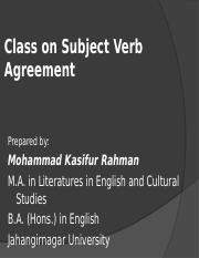 Kasif_Subject Verb Agreement.ppt