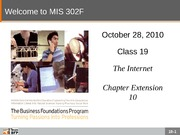 F10-Class-19-The Internet-Instructor