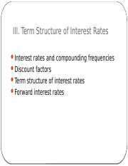 6850_s03 - term structure of interest rates