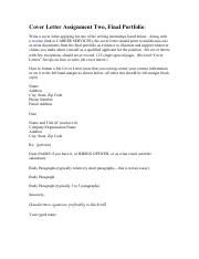 Cover Letter Assignment Two.pdf