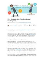 MBA11_Emotional Intelligence